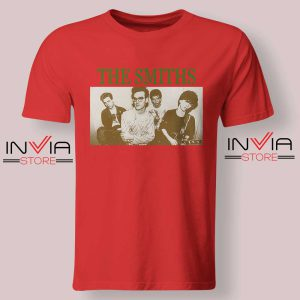 Vintage The Smiths Tshirt Red