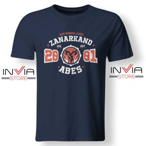 Zanarkand Abes Athletic Tshirt Navy