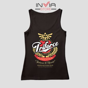 Zelda Triforce Special Potion Tank Top Black