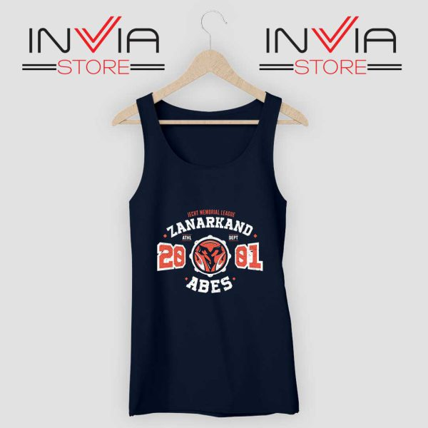 zanarkand-abes-athletic-tank-top Navy