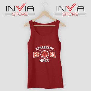 zanarkand-abes-athletic-tank-top Red