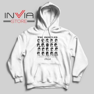 A Hard Days Night 1964 Hoodie White