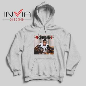 AI Youngboy 2 Hoodie Grey