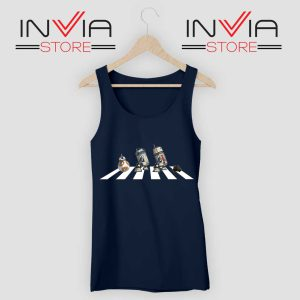 Abbey Droid Star Wars Tank Top Navy
