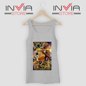 Accolades Kobe Bryant Poster Tank Top Grey