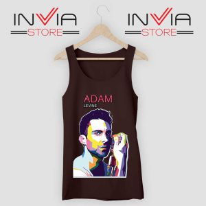 Adam Noah Levine Portrait Tank Top Black