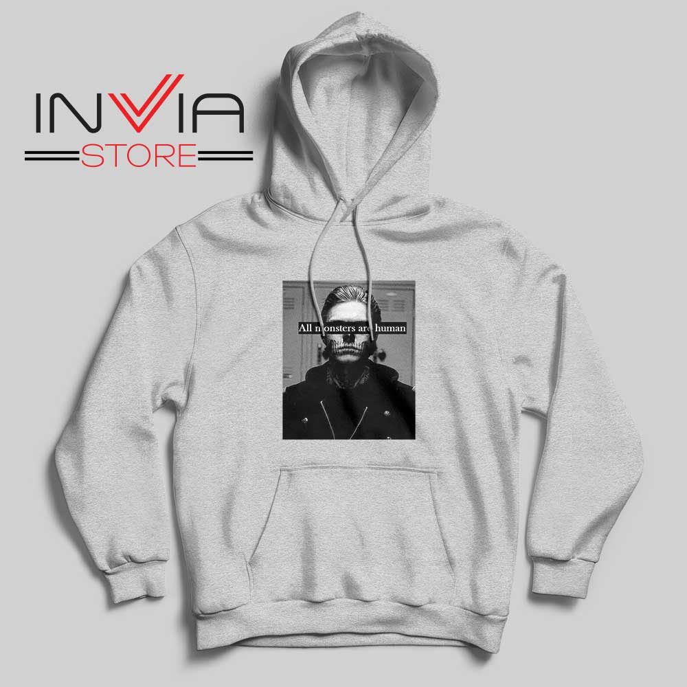 All Monster Are Human Hoodie Grey