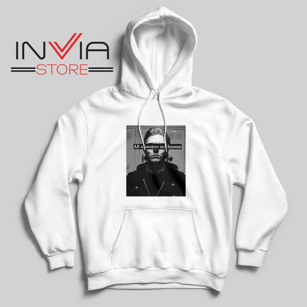 All Monster Are Human Hoodie White