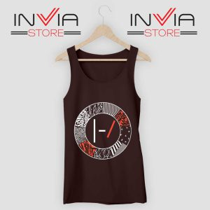 Art Blurryface 21 Pilots Tank Top