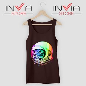 Astronaut Space Cat Tank Top