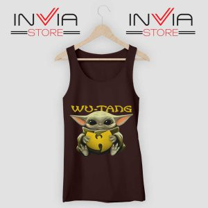 Baby Yoda Wu Tang Clan Tank Top Black