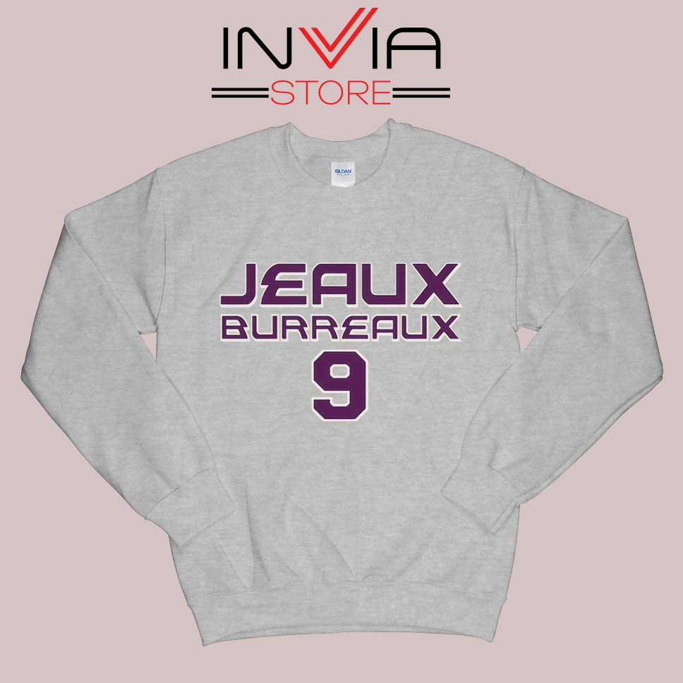 Best Jeaux Burreaux 9 Sweatshirt Grey