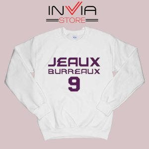 Best Jeaux Burreaux 9 Sweatshirt White