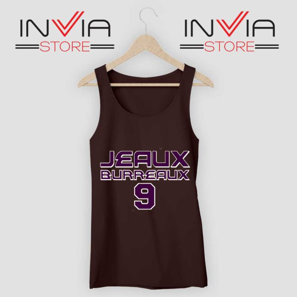 Best Jeaux Burreaux 9 Tank Top