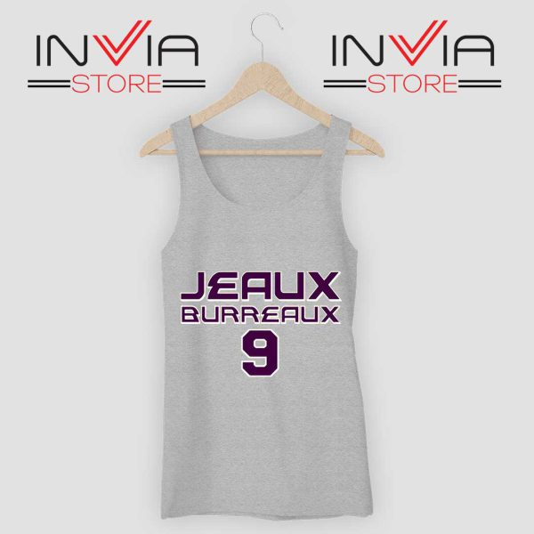 Best Jeaux Burreaux 9 Tank Top Grey