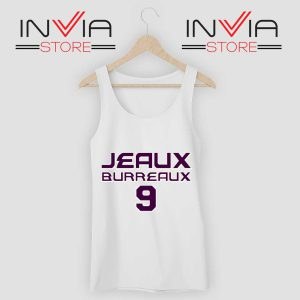 Best Jeaux Burreaux 9 Tank Top White