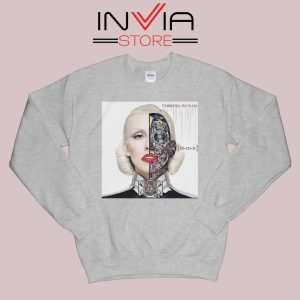 Bionic Album Christina Aguilera Sweatshirt Grey
