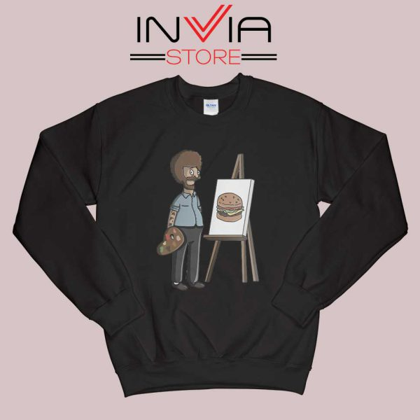 Bob Belcher Ross Sweatshirt Black