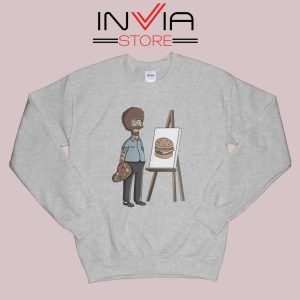 Bob Belcher Ross Sweatshirt Grey