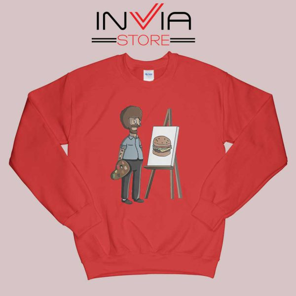 Bob Belcher Ross Sweatshirt Red