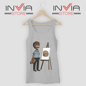 Bob Belcher Ross Tank Top Grey