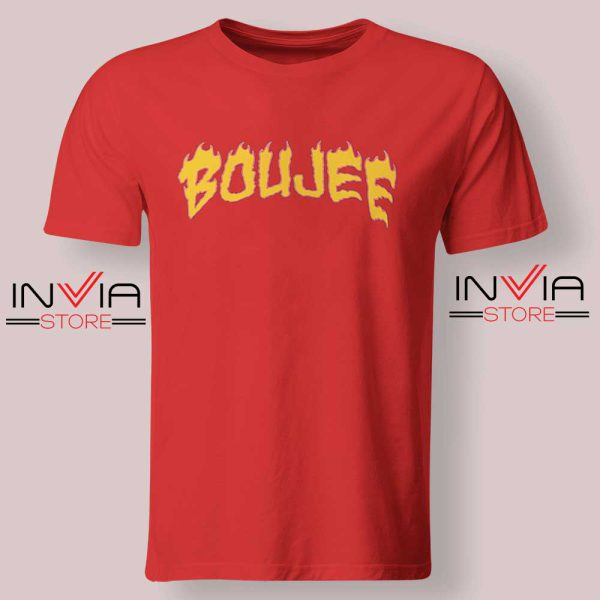 Boujee Fire Tshirt Red