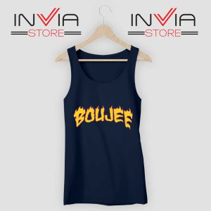 Boujee FireTank Top Navy