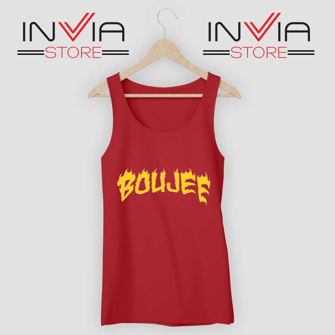Boujee FireTank Top Red