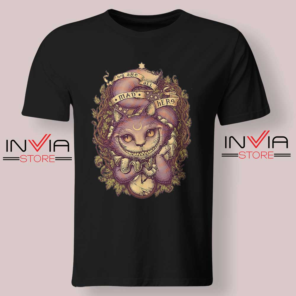 Cheshire Cat Art Relax Tshirt