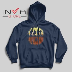Eleven Friends Dont Lie Hoodie Navy