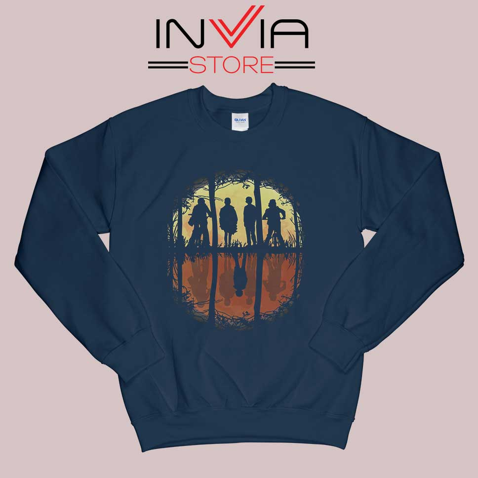 Eleven Friends Dont Lie Sweatshirt Navy