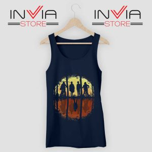 Eleven Friends Dont Lie Tank Top Navy