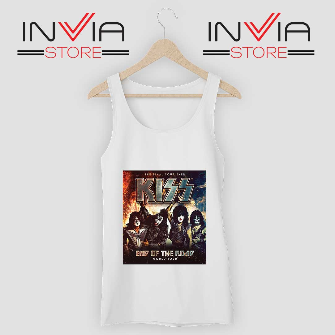 End of the Road Tour World Tank Top White