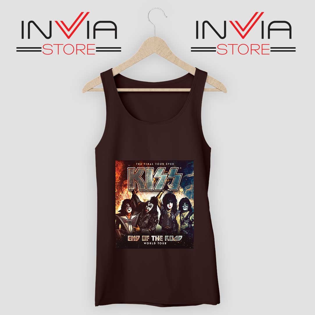 End of the Road Tour World Tank Top