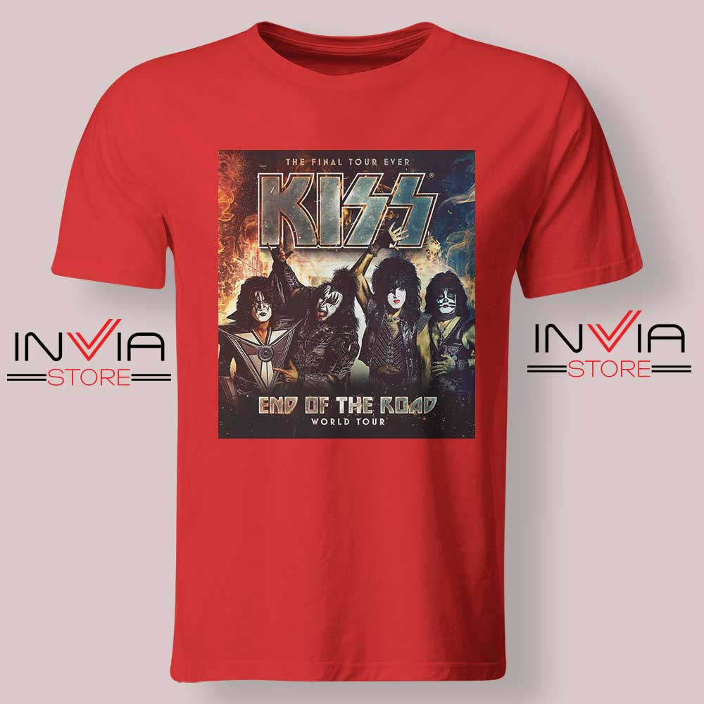 End of the Road Tour World Tshirt Red