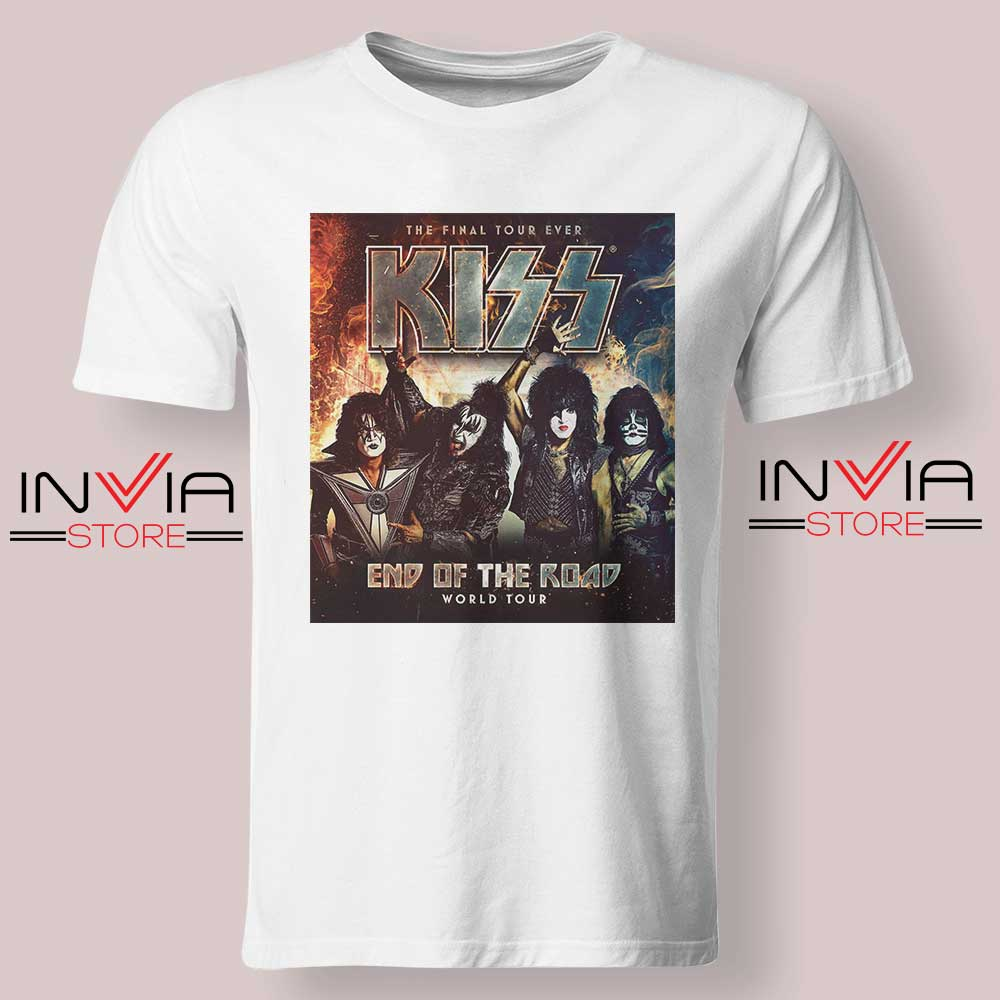 End of the Road Tour World Tshirt White