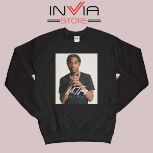 Fiveya New Lil True 2 to Myself Sweatshirt Black