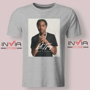 Fiveya New Lil True 2 to Myself Tshirt Grey