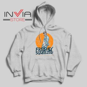 Freshly Squeezed Orange Cassidy Hoodie Grey