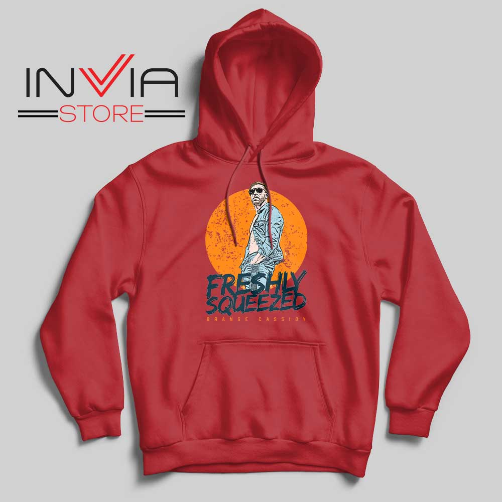 Freshly Squeezed Orange Cassidy Hoodie Red