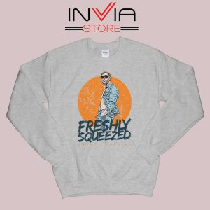 Freshly Squeezed Orange Cassidy Sweatshirt Grey