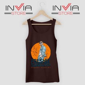 Freshly Squeezed Orange Cassidy Tank Top Black