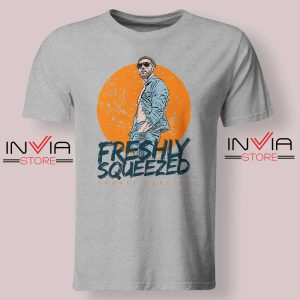 Freshly Squeezed Orange Cassidy Tshirt Grey