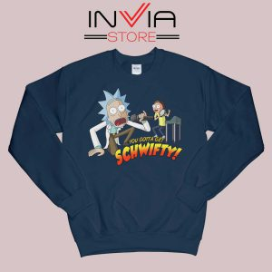 Get Schwifty Music Rick Sweatshirt Navy
