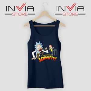 Get Schwifty Music Rick Tank Top Navy