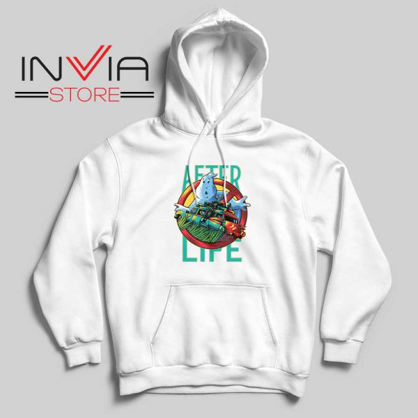 Ghostbusters Afterlife Hoodie White