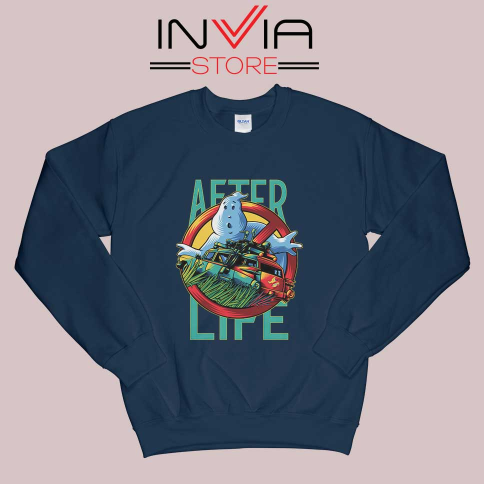 Ghostbusters Afterlife Sweatshirt Navy