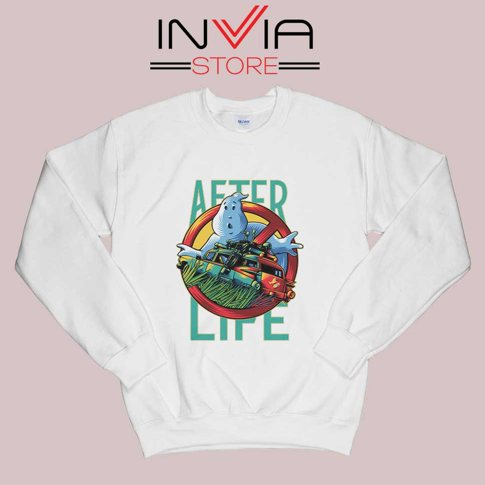 Ghostbusters Afterlife Sweatshirt White