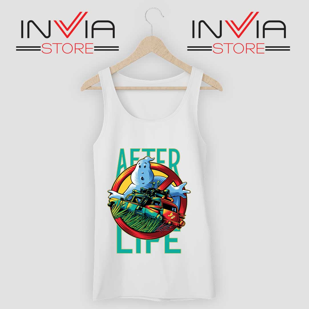 Ghostbusters Afterlife Tank Top White