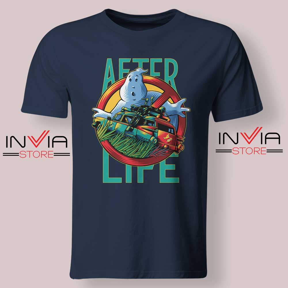 Ghostbusters Afterlife Tshirt Navy